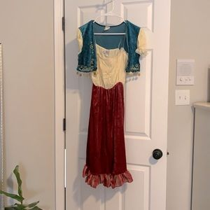 Gypsy Halloween Costume, Sz M